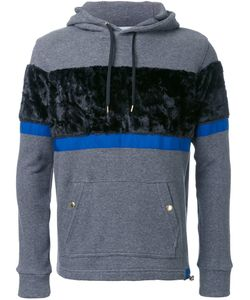 Education From Youngmachines | Striped Texture Hoodie Mens Size 1 Cotton