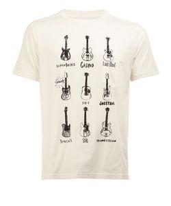 The Soloist | Guitar Print T-Shirt Mens Size 48 Cotton