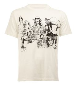 The Soloist | Printed T-Shirt Mens Size 48 Cotton
