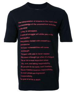 Dressedundressed | Printed T-Shirt Mens Size 3 Cotton