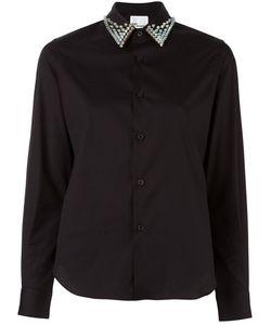 Comme Des Garçons Noir Kei Ninomiya | Studded Collar Shirt Womens Size
