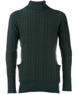Curieux | Roll Neck Jumper Mens Size Small Cashmere
