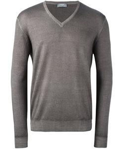Barba | V-Neck Pullover Mens Size 54 Virgin Wool