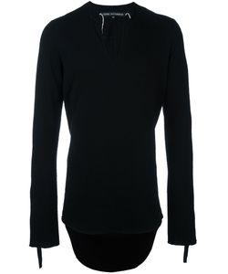 Cedric Jacquemyn   Asymmetric Tunic Jumper Mens Size 50 Virgin Wool