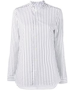 Marie Marot | Diana Striped Blouse Womens Size Xl Cotton