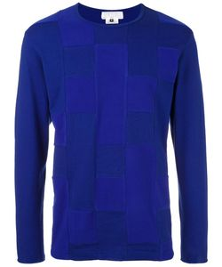 Ganryu Comme Des Garcons | Patchwork Long-Sleeved T-Shirt Mens Size Medium