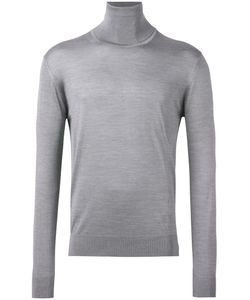 Lanvin | Turtleneck Fitted Jumper Mens Size Small Silk