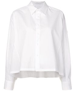 Y's   Cropped Shirt Womens Size 2 Cotton