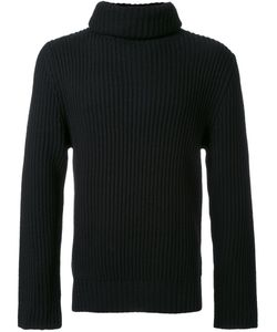 Christian Dada | Turtleneck Ribbed Sweater Mens Size 46 Wool