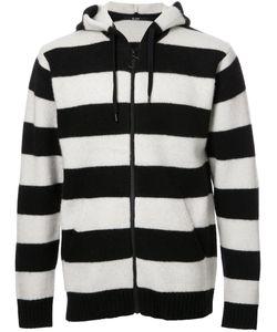 Hl Heddie Lovu | Striped Hoodie Mens Size Small Wool