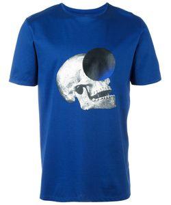 Cy Choi | Skull Print T-Shirt Mens Size Medium Cotton