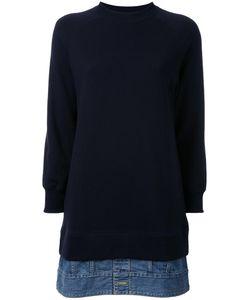 Mihara Yasuhiro   Miharayasuhiro Three-Quarter Sleeved Sweatshirt Womens Size 36 Cotton