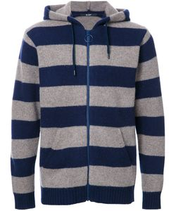 Hl Heddie Lovu | Striped Hoodie Mens Size Medium Wool