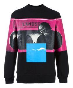 Cy Choi | Printed Sweatshirt Mens Size Large Cotton