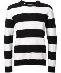 Hl Heddie Lovu | Striped Jumper Mens Size Small Wool