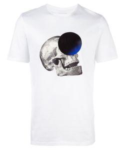Cy Choi | Skull Print T-Shirt Mens Size Small Cotton