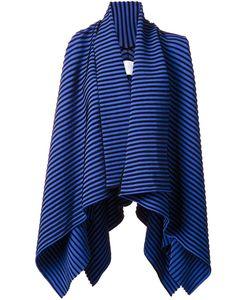 Ingie Paris   Striped Waterfall Cardigan Womens Size Medium Viscose/Polyamide/Polyester