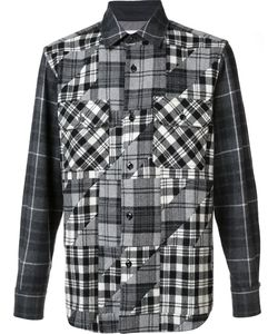 Ganryu Comme Des Garcons | Checked Shirt Mens Size Small Wool/Nylon