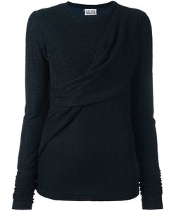 Arthur Arbesser | Draped Detailing Pullover Womens Size 38 Viscose/Polyamide