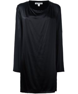 Ann Demeulemeester Blanche   Long Fit Blouse Womens Size 40 Silk/Rayon/Spandex/Elastane