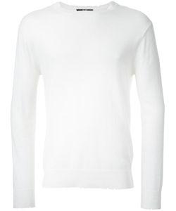 Hl Heddie Lovu | Damaged Knit Mens Size Medium Cotton/Rayon/Wool/Nylon