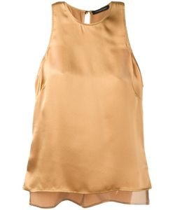 Catherine Quin | Soriano Tank Top Womens Size 8 Silk