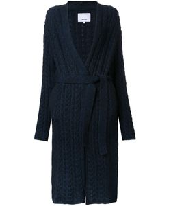 08Sircus | Cable Knit Gown-Length Cardigan Womens Size 1 Nylon/Mohair/Wool