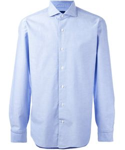 Barba | Cutaway Collar Shirt Mens Size 41 Cotton
