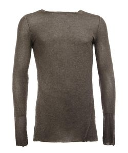 Masnada | Fitted Jumper Mens Size 48 Spandex/Elastane/Viscose/Wool