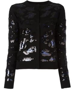 Sibling | Sequin Embellished Cardigan Womens Size Medium Merino