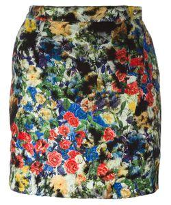 Roseanna   Floral Print Skirt Womens Size 38 Cotton/Polyamide/Polyester/Virgin Wool