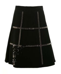 Comme Des Garçons Noir Kei Ninomiya | Studded A-Line Skirt Womens Size