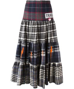 Sold Out Frvr | Plaid Maxi Skirt Womens Size Small Cotton/Polyester/Other