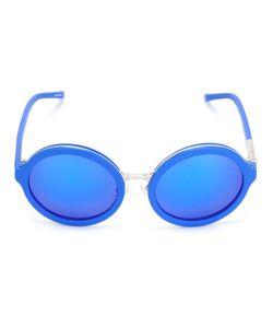 Linda Farrow Gallery   Round Tinted Sunglasses Womens Plastic