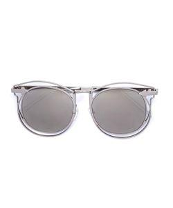 Karen Walker Eyewear | Simone Sunglasses Womens Grey Metal