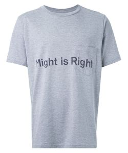 The Soloist | Might Is Right Print T-Shirt