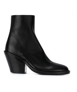 Ann Demeulemeester Blanche   Chunky Heel Ankle Boots