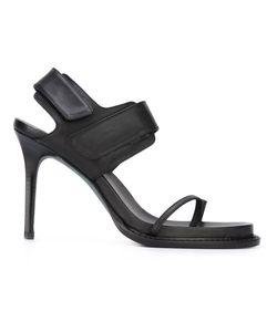 Ann Demeulemeester Blanche   Velcro Strap Stiletto Sandals