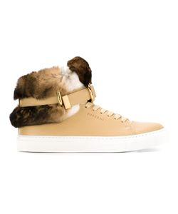 Buscemi | Rabbit Fur Detail Hi-Top Sneakers