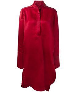 Petar Petrov | Oversized Organza Dress Womens Size 36 Silk