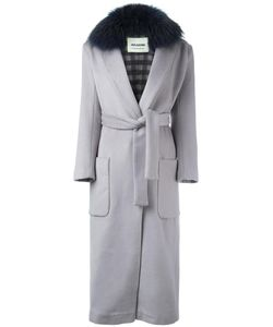 Ava Adore | Patch Pocket Long Coat Womens Size 38 Virgin