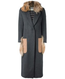 Ava Adore | Patch Pocket Long Coat Womens Size 40 Virgin