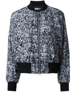 Anrealage | Snow Noise Bomber Jacket Womens Size 38 Polyester/Cupro/Cotton/Polyurethane