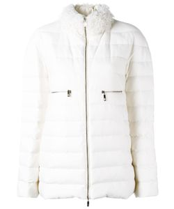 Moncler Gamme Rouge   High Neck Zipped Jacket Womens Size 1