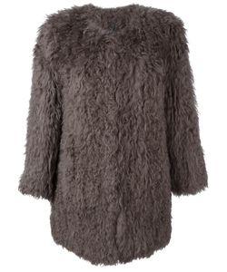 Ravn | Classic Fur Coat Womens Size 36 Lamb Fur