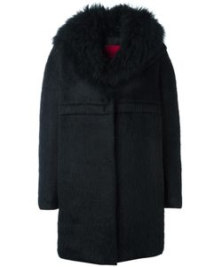 Moncler Gamme Rouge   Long Sleeve Cocoon Coat Womens Size 3