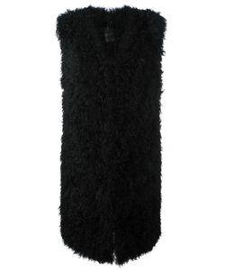 Ravn | Fur Vest Womens Size 38 Lamb Fur