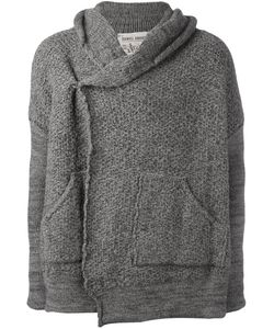 Daniel Andresen | Hooded Boxy Cardigan Mens Size Medium Linen/Flax/Virgin Wool