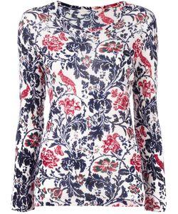 Y's   Floral Pattern Jumper Womens Size 2 Nylon/Wool