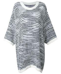 Anrealage | Noise Border Oversize Sweater Womens Acrylic/Nylon/Wool/Alpaca